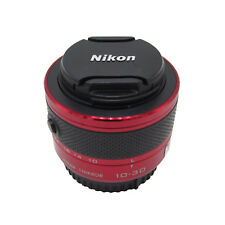 Red Zoom Lens for Nikon 1 NIKKOR 10-30 10-30mm f/3.5-5.6 VR J1 J2 J3 J4 V1 V2