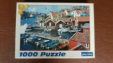 1000 piece puzzle - Kyrkesund in Sweden - A Play time puzzle - Complete