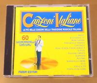 CANZONI ITALIANE - FABBRI EDITORI - N° 60 - OTTIMO CD [AC-054]