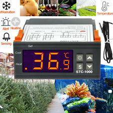Digital Thermostat Temperaturregler 110-220V STC-1000 Temperaturschalter-55~99°C