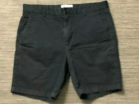 "Everlane Adult Mens 32 Chino Shorts Black 7"""
