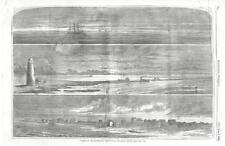 Southwest Pass of the Mississippi River - Hilton Head, S.C.   - Civil War - 1861