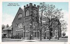 c.1920 Baptist Church Walnut Ridge  AR post card