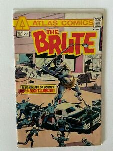 The Brute #1 Atlas Comics 1975 Mid Grade