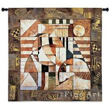 "Point of Reference Contemporary Modern Wall Tapestry 52""x54"""