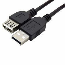 USB Verlängerung 2.0 A zu einem männlichen weiblichen-Verlängerungskabel-Schnur.