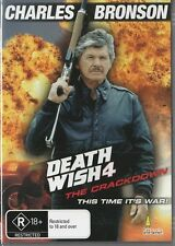DEATH WISH 4 - CHARLES BRONSON - NEW & SEALED  REGION 4 DVD