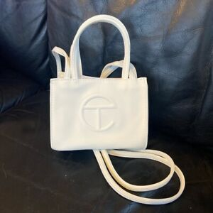 Telfar Small White Party Size Shopping Bag - Ready To Ship