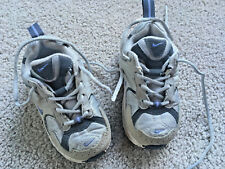 2003 Nike Retro Baby Infant Size 5C Toddler Shoes #030507Gray w/ PURPLE Swoosh