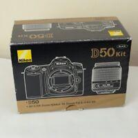 NIKON D50 kit Black Camera BOX ONLY
