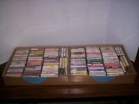 Large Collection Of 121 Contemporary Music Cassettes