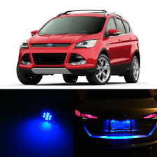 Blue LED License Plate Lights For Ford Escape 2001-2015 2010 2011 2012 2013