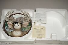 Lim Ed-1995 The Buck - 1st in Nature's nobility Series Bradford Exchange Plate