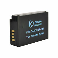 New Battery Pack LP-E17 FOR Canon EOS M3 760D 750D DSLR Camera LPE17