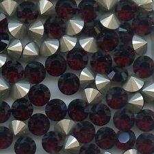 1028 SS39 G*** 8 STRASS SWAROVSKI FOND CONIQUE SS39(8,3mm) GARNET F