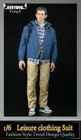 "VORTOYS 1/6 Male Leisure Clothes Model Fit 12"" Action Figure Body Toys V1016A"