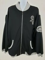 Mitchell & Ness Chicago White Sox Comiskey Inaugural 1991 Black Jacket Size 4XL