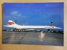 CONCORDE  BRITISH AIRWAYS   G-BOAB