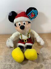 "Disney Christmas Mickey Mouse Plush Applause 18"" WT"