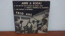 "HEAR 7"" TRIO ABC EP ""ABRE A RODA"" SAMBA JAZZ BRAZIL VG+ PAULINHO DA VIOLA PS"