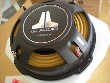 "JL AUDIO 12TW3-D4 Dual 4 Ohm 12"" SHALLOW SLIM MOUNT SUBWOOFER NEW TW3 W3V3 300MM"
