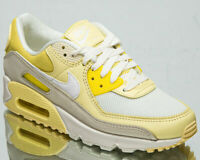 Nike Air Max 90 Lemon Women's Opti Yellow White Casual Lifestyle Sneakers Shoes