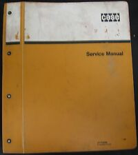 Case W14, W14H and W14FL Loaders PIN 9119672 and After Service Manual