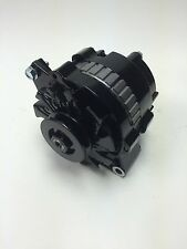 73-85 CHEVROLET ALMOST ALL ENGINES ALTERNATOR 105 AMPS BLACK POWDER COATED