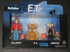 E.T. RETRO REACTION FIGURE BOX SET FUNKO ELLIOT GERTIE LIMITED TO 5000 SPIELBERG