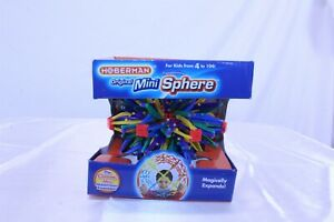 """Hoberman Toy Sphere Toy Classic Expanding Ball Rainbow Colors 5.5"""" to 12"""""""