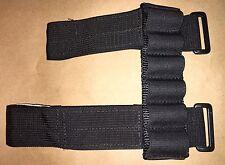 CCW 3 Pistola Fucile PRACTICAL Arm Band 6 sacchetti munizioni Carrier Nylon 12 G