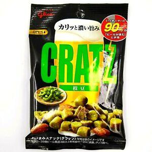 Cratz edamame pretzel almond beer snack Glico Japan 1 bag 42g exp 03/2022