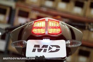 Turn Signal Lights Blinker Amber Flasher For Ducati Streetfighter 848 2009-2012