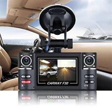 DVR HD REGISTRATORE AUTO 2 TELECAMERE LED FOTO VIDEO MICRO SD TV OUT DASH CAM