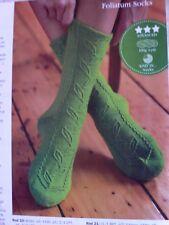 Leaf Vine Socks Knitting Pattern