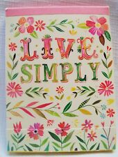 Madison Park Live Simply Mini Notepad  and Pencil Set