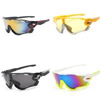 Men Polarized Sunglasses Sport Wrap Around Mirror Driving Eyewear Glasses Google