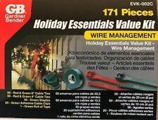 Gardner Bender 171 Piece Holiday Essentials Value Kit Wire Management