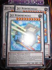 YU-GI-OH! COMMUNE LOT JET ROBOBUREAU X3 (PLAYSET) DOCS-FR049 MINT FR NEUF