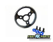 Hot Racing Steel Spur Gear (56t 0.8 Mod)(Blue) - Traxxas SJT256