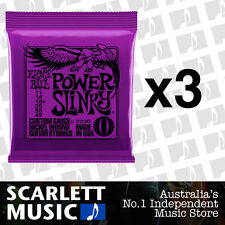 3x Ernie Ball Power Slinky 11-48 Electric Guitar Strings *SET OF 3 PACKS*