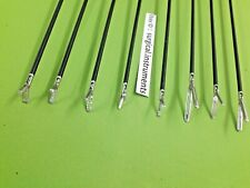 8pc Laparoscopic Grasping Forcep 5mmx330mm Endoscopy Surgical Instruments