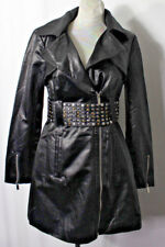 XS Bebe Trench Coat with Studed Belt 00