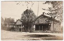 RARE Real Photo - Copeland's Store - Clarendon NY  1908 Street  RPPC