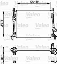 VALEO Engine Cooling Radiator Fits FORD C-Max Focus MPV Sedan Wagon 2003-2012