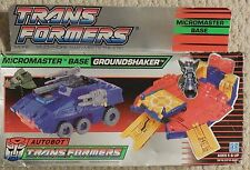 Transformers G1 Micromaster Base GROUNDSHAKER w Box