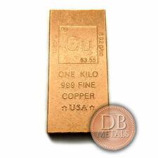 1 Kilo Copper Bar - Elemental