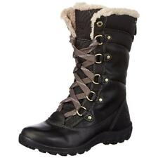 Timberland 7940 Womens Mount Hope Black Winter Boots Shoes 6.5 Medium (B,M) BHFO