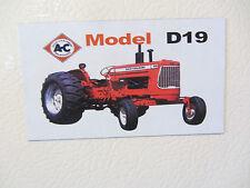 ALLIS CHALMERS D19 Fridge/tool box magnet