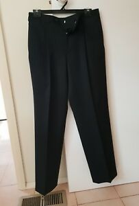 STAFFORD CORPORATE GREY WOOL BLEND DRESS PANTS TROUSERS ☄size 96RGH NEW!